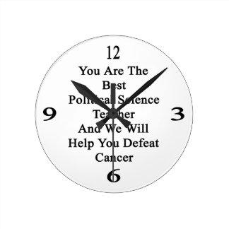 Usted es el mejores profesor de ciencias y nosotro reloj redondo mediano