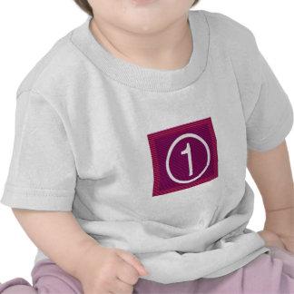 Usted es el NÚMERO UNO - los cumplidores en Camisetas