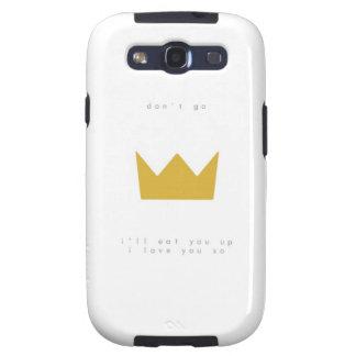 Usted es el primer rey We no ha comido Galaxy S3 Carcasa