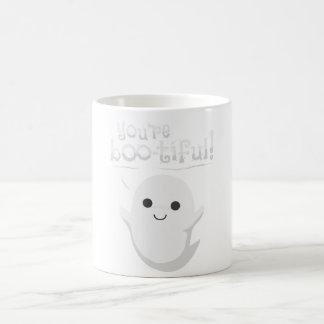 Usted es fantasma bootiful taza