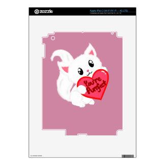 Usted es gatito de Purrfect Pegatina Skin Para iPad 3