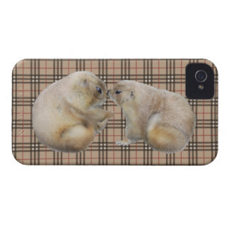 Usted es groundhogs bendecidos Case-Mate iPhone 4 protector