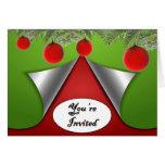 Usted es invitación de encargo invitada del día de felicitación