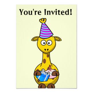 Usted es invitación invitada del cumpleaños