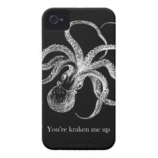 'Usted es kraken me up iPhone 4 Protectores