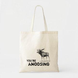 Usted es la bolsa de asas de los alces de Amoosing