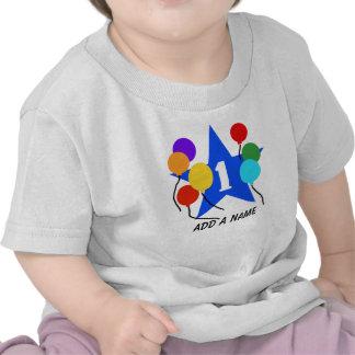 Usted es la camiseta personalizada 1r cumpleaños d