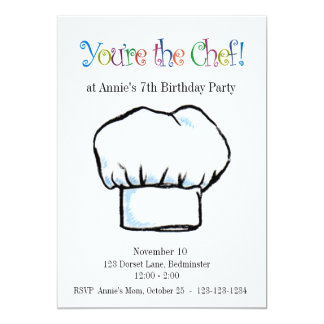 Usted es la invitación del cocinero