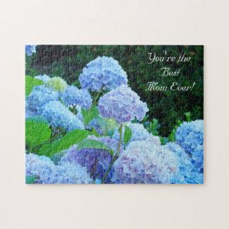 ¡Usted es la mejor mamá nunca! flores de los regal Puzzles