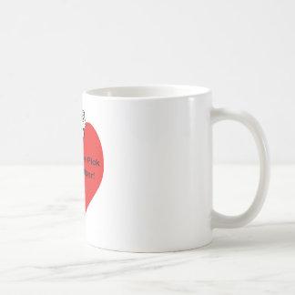 Usted es la selección de la litera taza de café