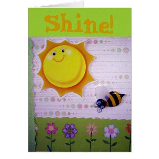 ¡Usted es la sol! Tarjeta De Felicitación