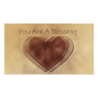 Usted es las notas del amor de una bendición tarjeta de negocio