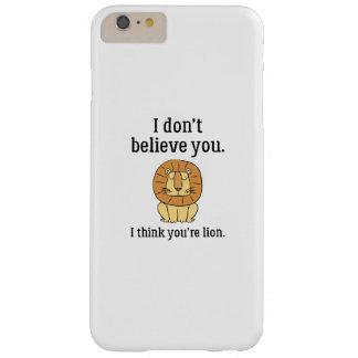 Usted es león funda barely there iPhone 6 plus