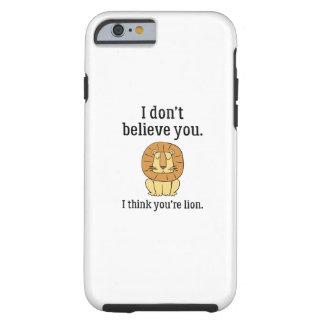 Usted es león funda resistente iPhone 6