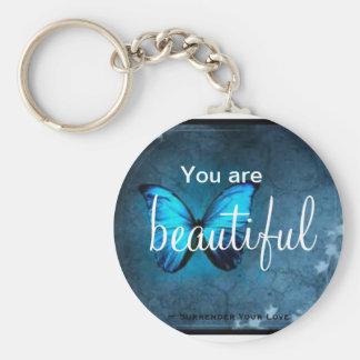 Usted es llavero hermoso