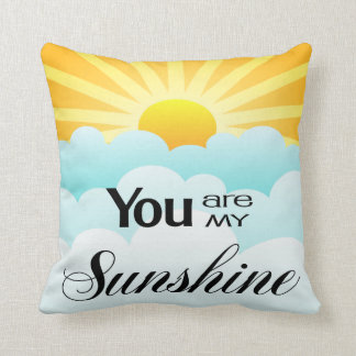Usted es mi almohada de la sol