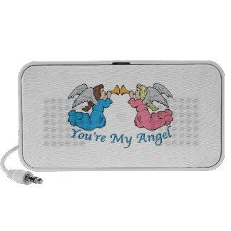 Usted es mi ángel laptop altavoz