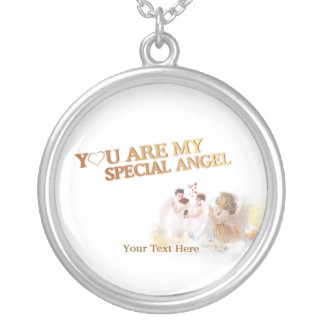 ¡Usted es mi ángel especial - modifiqúelo para req Colgante Redondo