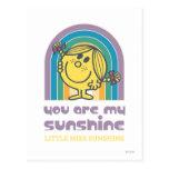 Usted es mi arco de la sol tarjetas postales