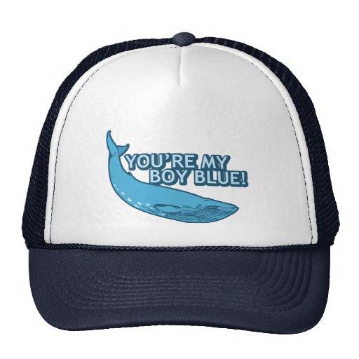¡Usted es mi azul del muchacho! película+regalos Gorras