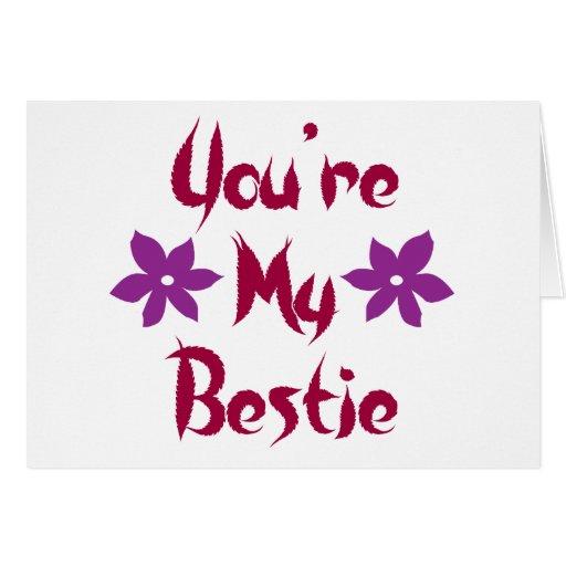 Usted es mi Bestie Felicitaciones