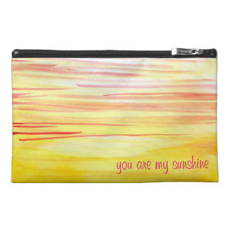 Usted es mi bolso del viaje de la sol