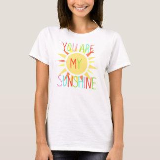 Usted es mi camiseta colorida de la diversión