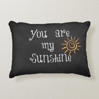 Usted es mi cita de la sol cojín decorativo