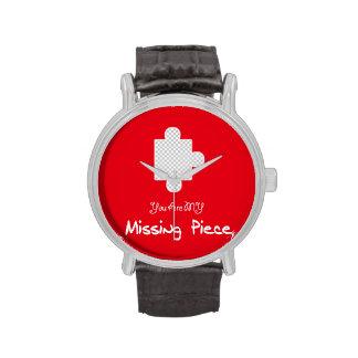 Usted es mi @Creabit que falta del pedazo Relojes De Mano