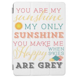 Usted es mi cubierta de la sol IPAD Cubierta De iPad Air