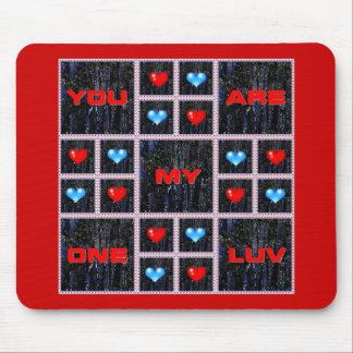 Usted es mi el día de San Valentín Mousepad de un Alfombrillas De Ratones