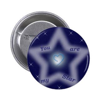 """Usted es mi estrella "" Pins"