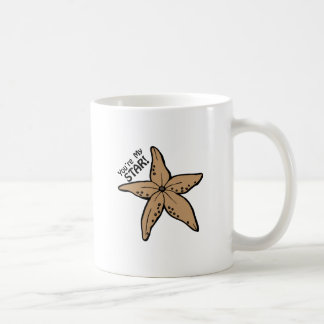 Usted es mi estrella tazas de café