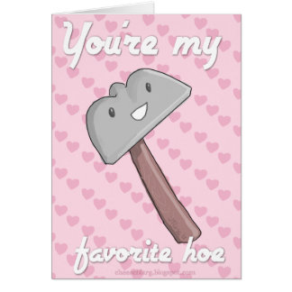 Usted es mi favorito tarjeta de felicitación