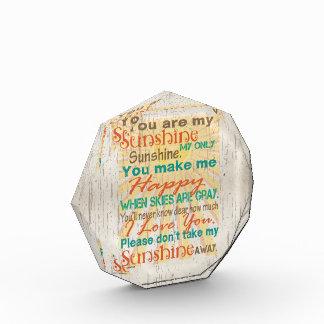 Usted es mi naranja/trullo/crema de la sol