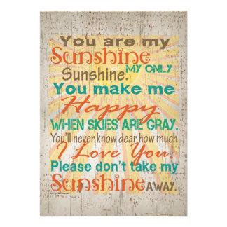Usted es mi naranja trullo crema de la sol