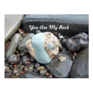 Usted es mi postal de la roca 1