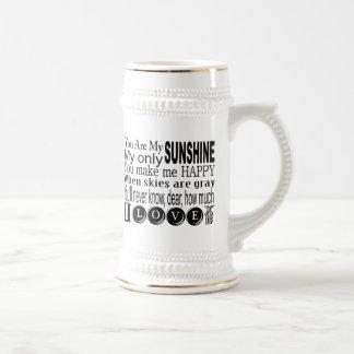 Usted es mi ropa y regalos de la sol tazas de café