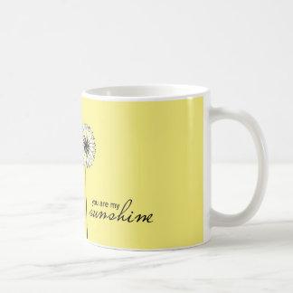Usted es mi sol 01 taza clásica