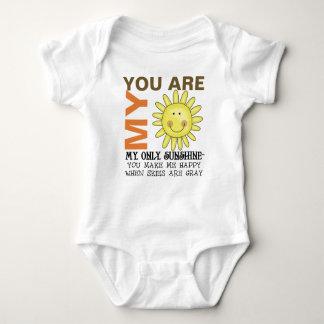 Usted es mi sol body para bebé