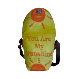 Usted es mi sol bolsa messenger