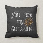 Usted es mi sol cojin