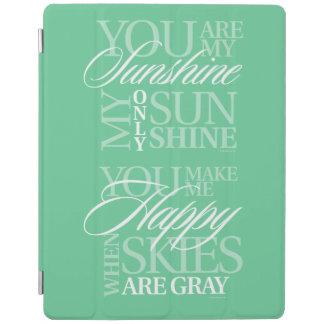 Usted es mi sol cubierta de iPad