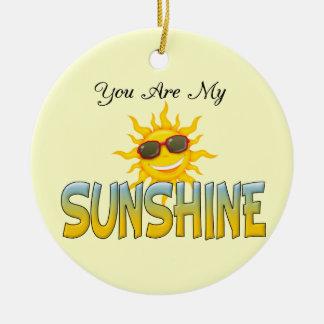 Usted es mi sol ornamente de reyes