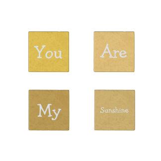 Usted es mi sol imán de piedra
