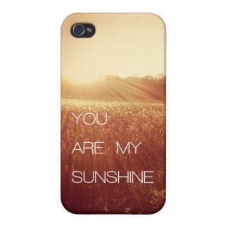 Usted es mi sol iPhone 4 fundas
