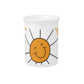 Usted es mi sol jarra para bebida