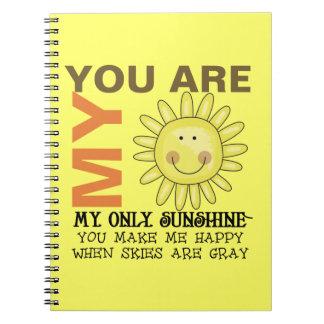 Usted es mi sol cuadernos