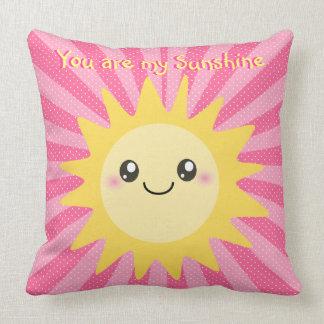 Usted es mi sol lindo de la sol cojín