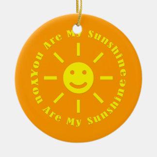 Usted es mi sol ornamentos de reyes